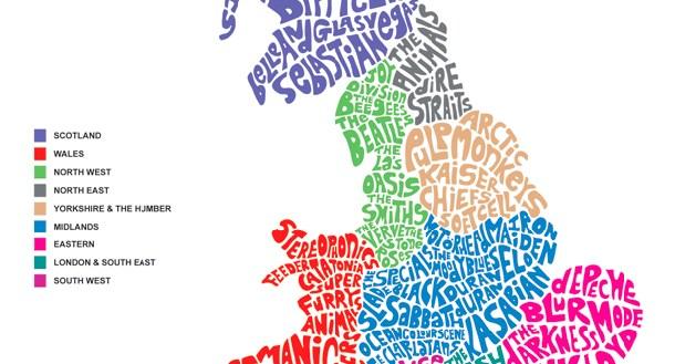 mapa bantas britanicas