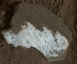 Curiosity agua en Marte