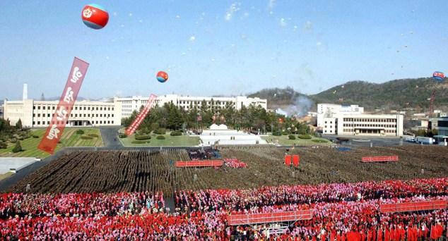 Corea Norte Día del Sol Nuclear Fundador