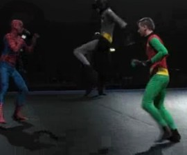 spiderman batman robin
