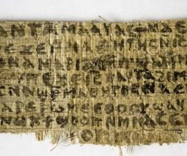 papiro esposa jesus