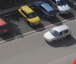 señora no se sabe estacionar
