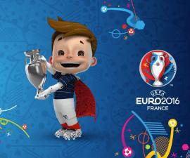 mascota euro 2016 francia