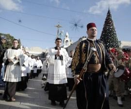PALESTINIAN-ISRAEL-RELIGION-CHRISTIANS-CHRISTMAS
