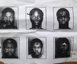mugshots negros policia