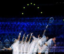 Djokovic-Serve