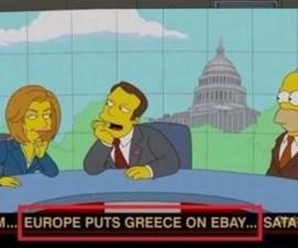 Simpsons-Grecia