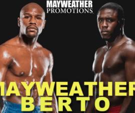 mayweather vs berto