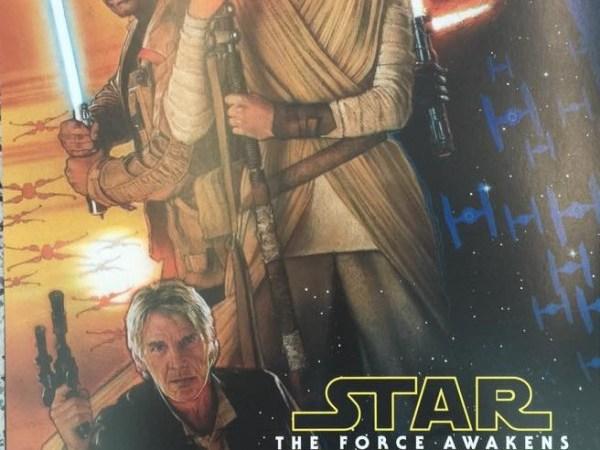 star wars espisode VII poster