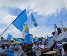 guatemala marcha