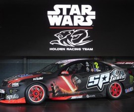 star wars racing car