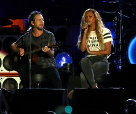 Eddie Vedder y Beyonce