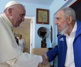 Papa-Fidel-Castro