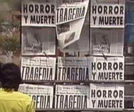 periódicos sismo 1985