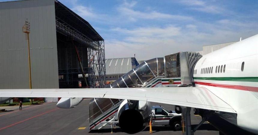 hangar presidencial