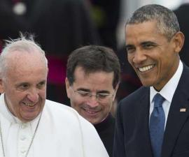 papa Francisco Obama