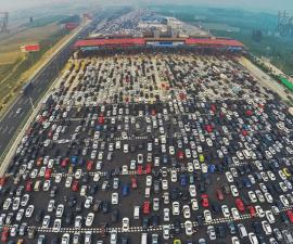 beijing traffic drone
