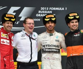 checo podio rusia