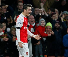 Arsenal v AFC Bournemouth - Barclays Premier League