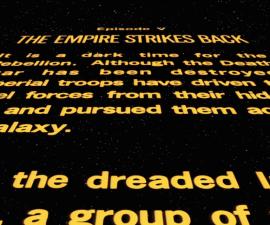 Star Wars Crawl introduction