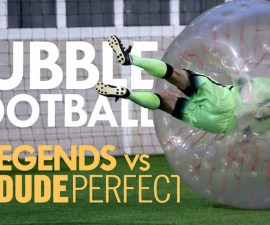 bubble football manchester city legends