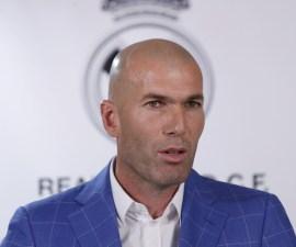 Zidane tecnico Madrid