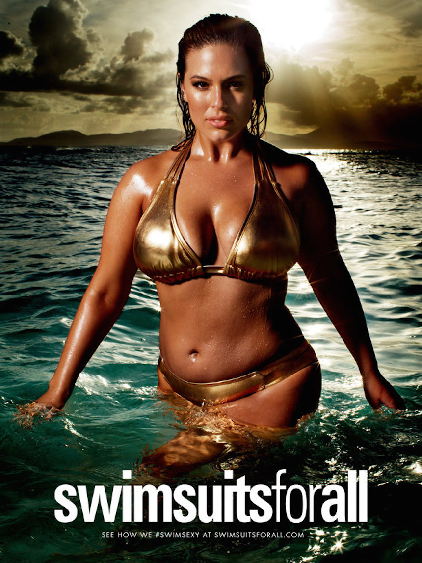 Gorditas en Sports Illustrated por primera vez