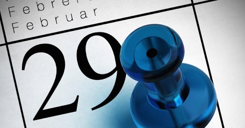 29 de febrero año bisiesto