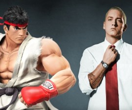 Eminem Street Fighter