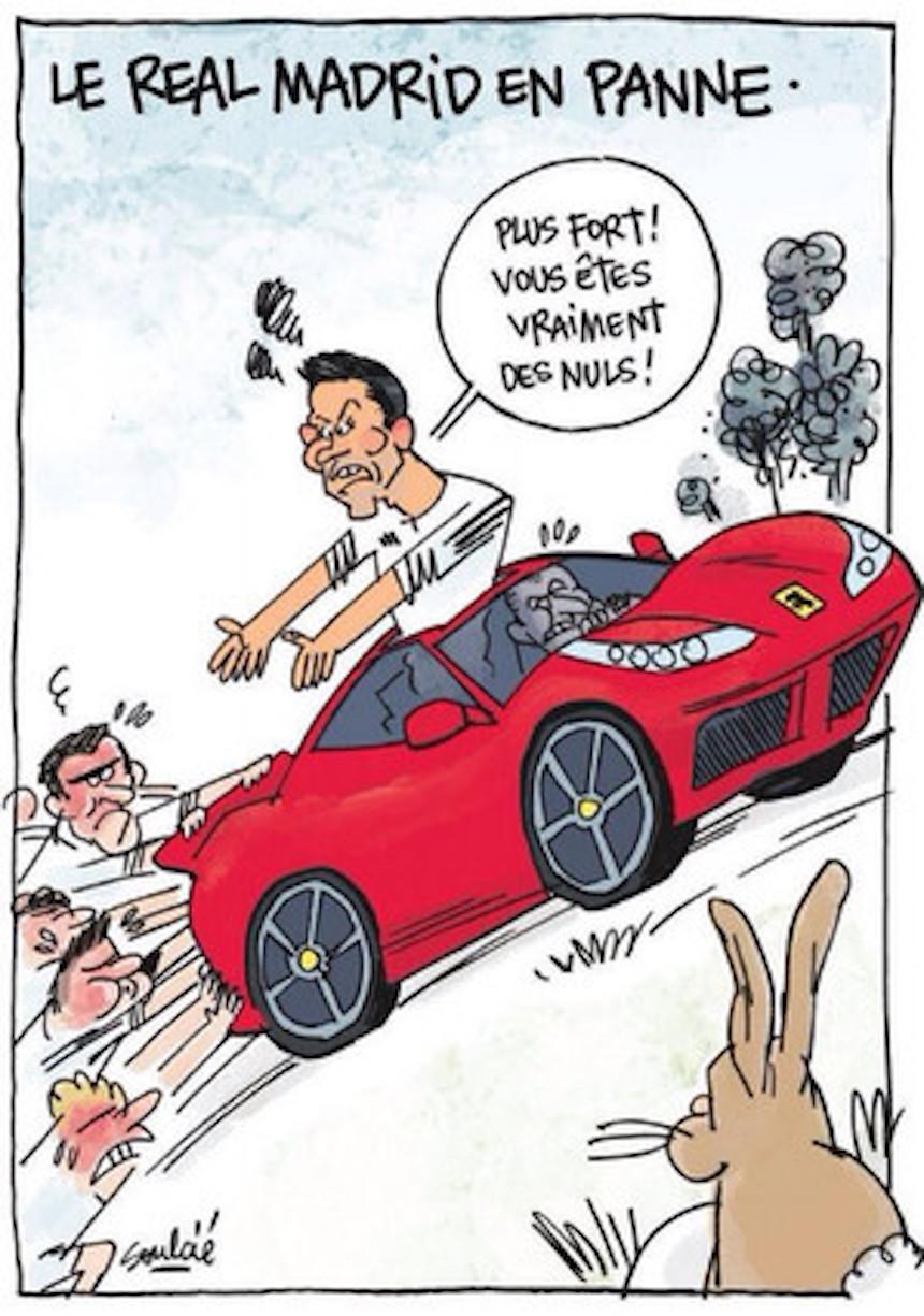 lequipe caricatura cristiano