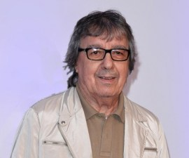 "LONDON, ENGLAND - SEPTEMBER 17:  Bill Wyman attends the ""20,000 Days on Earth"" screening at Barbican Centre on September 17, 2014 in London, England.  (Photo by Karwai Tang/WireImage)"