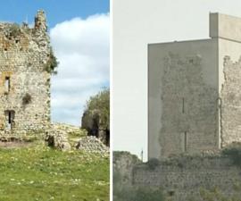 castillo  matrera restaurado