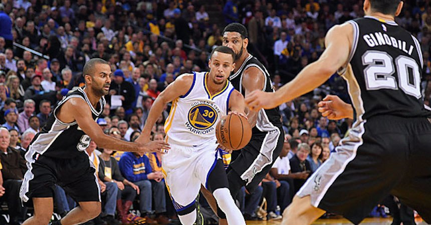 stephen curry bloqueado