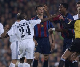 barcelona vs real madrid pelea