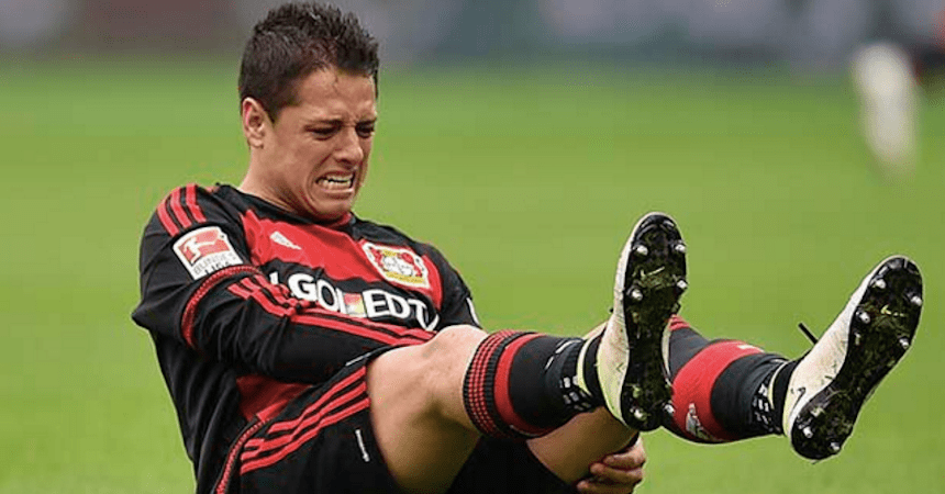 chicharito lesion