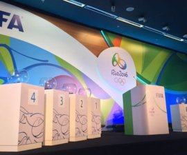 sorteo futbol olimpico rio 2016