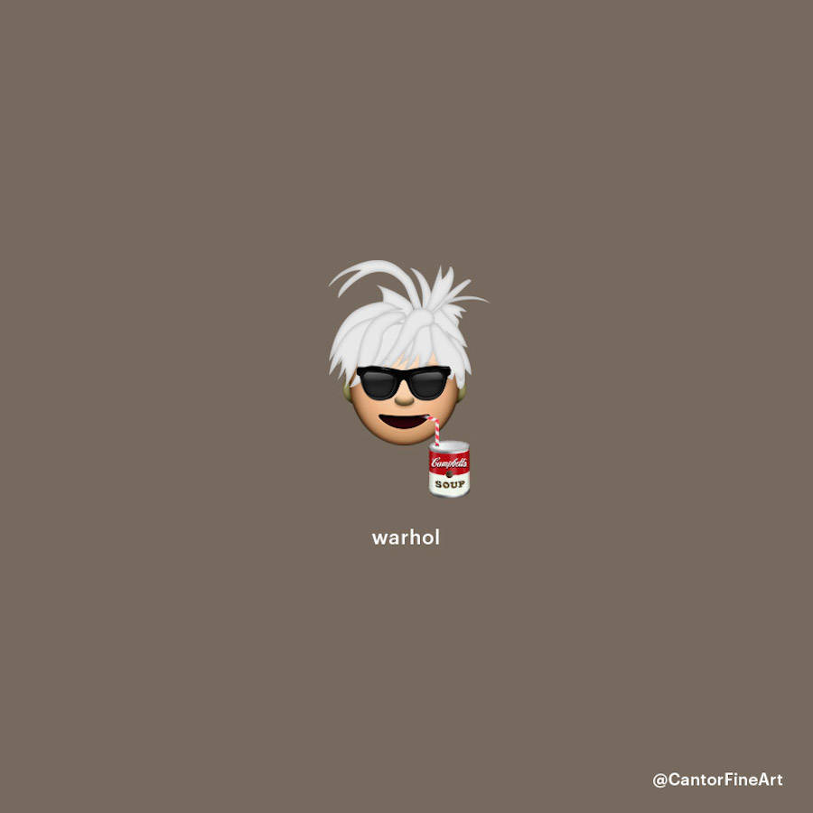 Andy Warhol Emoji