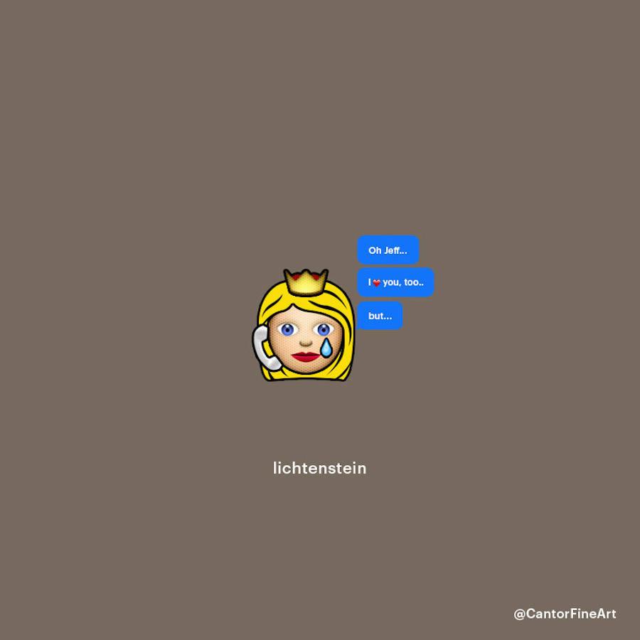 Lichstenstein Emoji