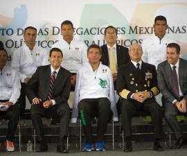 abanderamiento mexico rio 2016