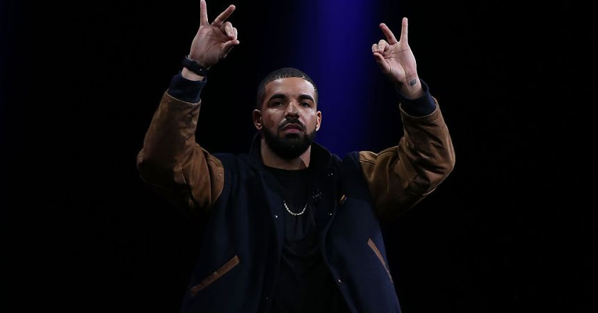 SAN FRANCISCO, CA - JUNE 08:  Recording artist Drake speaks about Apple Music during the Apple WWDC on June 8, 2015 in San Francisco, California. Apple annouced a new OS X, El Capitan, iOS 9 and Apple Music during the keynote at the annual developers conference that runs through June 12.  (Photo by Justin Sullivan/Getty Images)