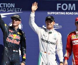 Calificaciones Gran Premio de Belgica
