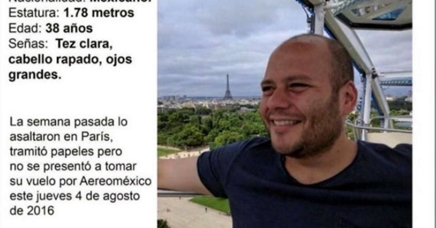 desaparecido profesor francia