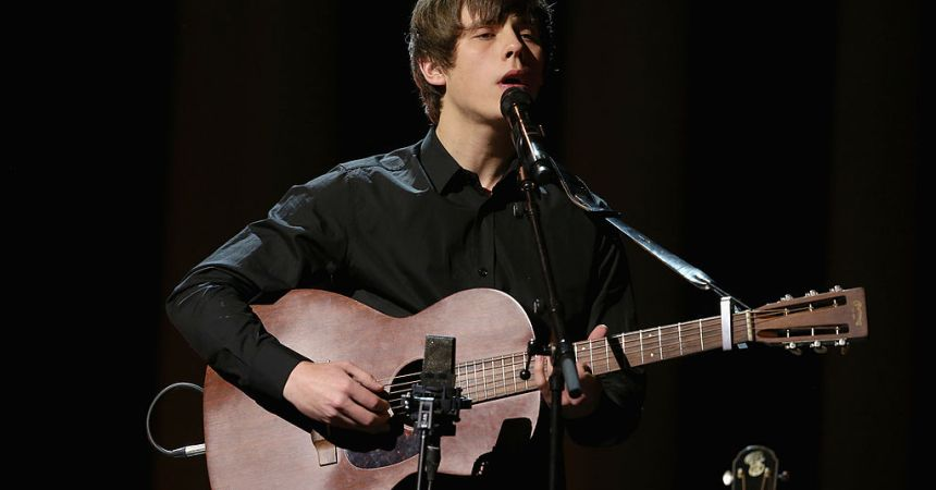 OSLO, NORWAY - DECEMBER 11:  Jake Bugg performs on stage during the 20th annual Nobel Peace Prize Concert at the Oslo Spektrum on December 11, 2013 in Oslo, Norway.  (Photo by Chris Jackson/Getty Images for Nobel Peace Prize Concert)