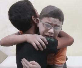 ninos-siria-reaccion-omran-bombardeo