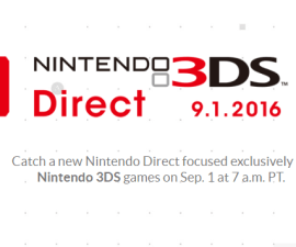 Nintendo Direct 3DS