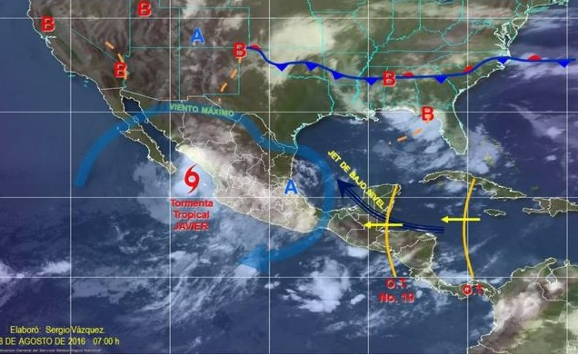 TORMENTA TROPICAL JAVIER