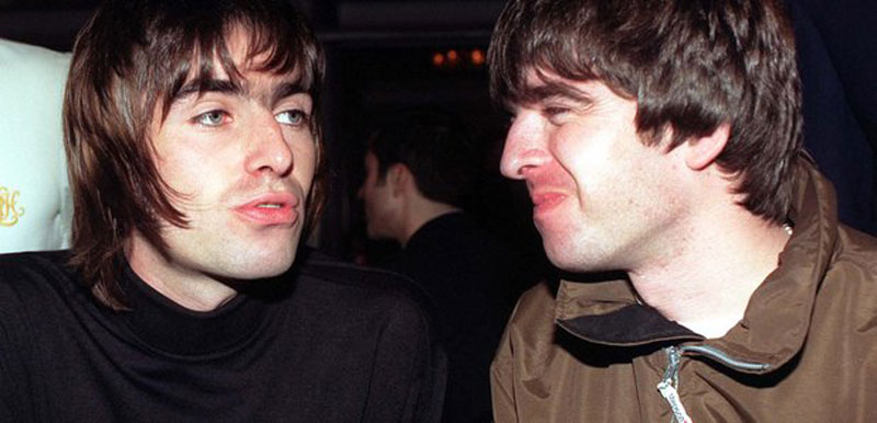 Liam Gallagher, Noel Gallagher, Oasis