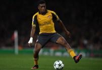 Alex Iwobi, delantero del Arsenal