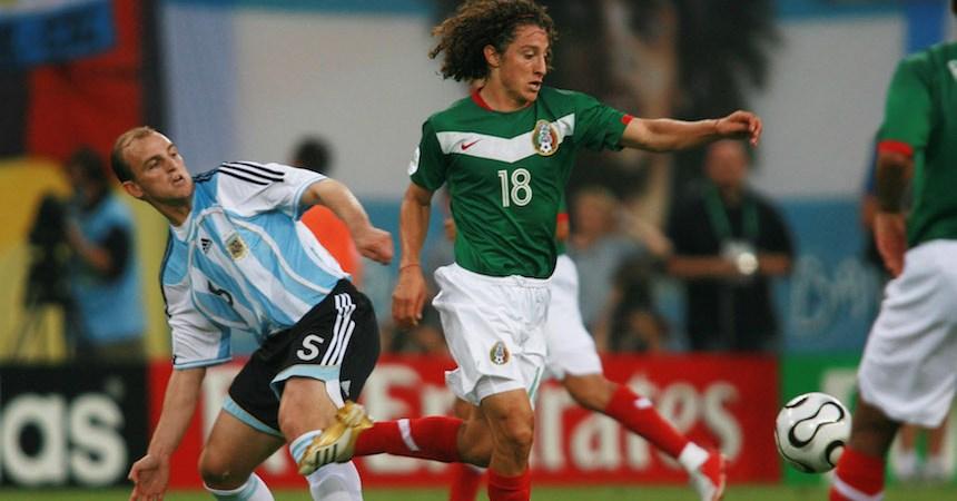 Andrés Guardado en su debut con Selección en el Mundial Alemania 2006