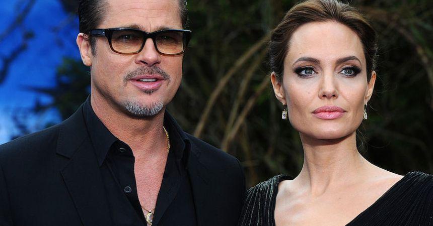 Divorcio entre Angelina Jolie y Brad Pitt
